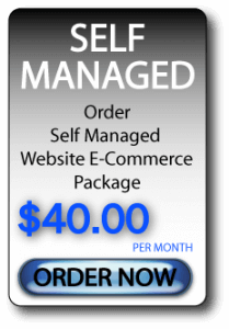 Self Managed E-Commerce Website