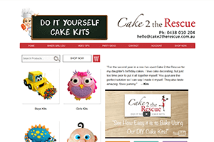 Mobile Responsive Website Design - image Cake-2-The-Rescue on https://www.redbackwebs.com.au