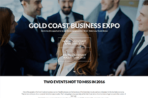 Mobile Responsive Website Design - image Gold-Coast-Business-Expo on https://www.redbackwebs.com.au